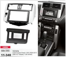 Carav 11-340 2din marco adaptador kit radio Toyota Land Cruiser Prado 150