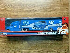 2007 Winner's Circle RYAN NEWMAN 1/64 #12 Blue Alltel Trailer Rig Transporter