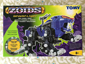 ZOIDS SHIELD LIGER By Tomy,Build, Customise,Mobilise,contents Still Sealed RARE