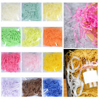 1 Bag  20g 12 Colors Colorful Raffia Shredded Crinkle Cut Paper Gift Box Filler