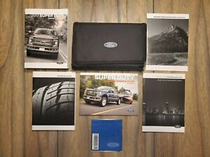 2017 Ford Super Duty Owners Manual Set