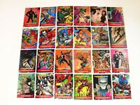 1995 SPIDER-MAN TIMELINES 24 PROMO WELCH ESKIMO PIES CARD SET! RARE! MAIL IN!
