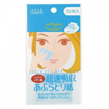 [KOSE SOFTYMO] Quick Oil Off Sheet Sweat & Oil Blotting Paper 150pcs JAPAN NEW