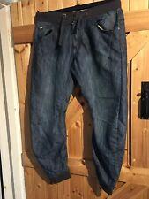 "Men's Fashion Jeans By Fabric Jeans Style Size 32R Blue Jeans Waist 34"" Leg L27"""