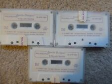 RAMTHA DIALOGUES JZ KNIGHT 3 CASSETTE TAPES 1987 RARE A DAY WITH RAMTHA