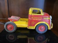 Wyandotte Truck Semi Cab Only. Cast, Pressed Steel Chassis-  10307