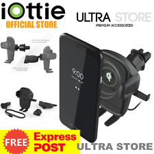 iOttie Easy One Touch Wireless 2 Charging Air Vent/CD Slot 2in1 Car Mount Holder