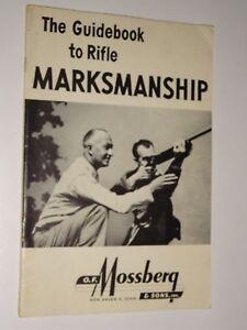 1942 O. F. MOSSBERG National Rifle Association Guidebook to Rifle Marksmanship