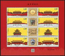 China PRC 2015-21 Palastmuseum Kaiserpalast Palace Museum Kleinbogen ** MNH