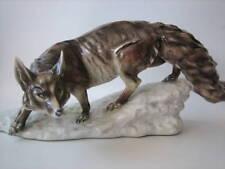 Guido Cacciapuoti grande volpe di ceramica anni '30 /'40 ( Lenci Ronzan )