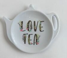 Melamine Teabag Holder Love Tea - Tea Bag