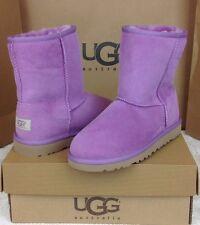 UGG Australia Kids Classic Short Sugar Plum Color Kids Size 5 Fits Woman Size 7