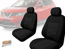 Nissan X-TRAIL T32 BLACK Custom Made Seat Covers F+R 03/2014-ON XTRAIL