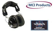 "White's Treasure Tone 1/4"" Angle Plug Metal Detector Headphones w/Patch"