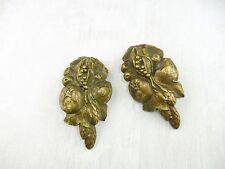 Anciens éléments / pièces / décorations de coin de meuble en bronze