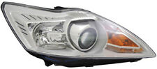 Clear Chrome finish Right side H1 / H7 headlight for FORD Focus II from 08