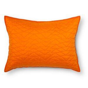 Triangle Stitch Pillow Sham Standard Orange from Pillowfort