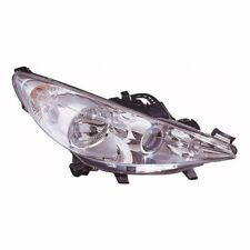 For Peugeot 207 2006-5/2010 Headlight Headlamp Chrome Drivers Side OS Inc. Fog