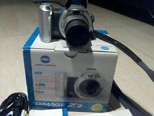 Konica Minolta DiMAGE Z2 4.0MP Digital Camera - Silver