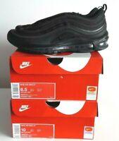 Nike Air Max 97 Triple Black BQ4567-001 running shoes men's size us 8.5 us 10