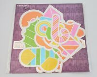 9 RICKIE TICKIE STICKIES 1968 STICKERS - Rare  Psychedelic Holiday, Hippie