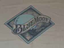 Blue Moon Beer Ale Shirt Mens Xl White