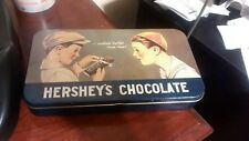"Vintage 1984 6 1/2""x 4"" Hershey's Chocolate Tin"