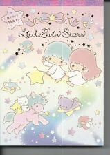 Sanrio Little Twin Stars Notepad Extra Thick Unicorn Bear