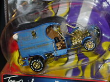 TOY ZONE TOM DANIEL PADDY WAGON HOT ROD COLLECTIBLE TOY CAR 1:43 -Blue, NICE!