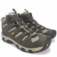 Keen Men's Koven Mid Waterproof Cascade Brown Midnight Navy Hiking Boots Size 9