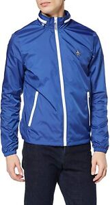 Brand New Original Penguin Heritage Windbreaker Jacket OPRS9101 Blue XXL