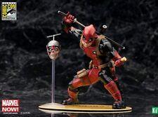 SDCC 2015 Exclusive Kotobukiya Marvel Deadpool Chimichanga Headpool Statue