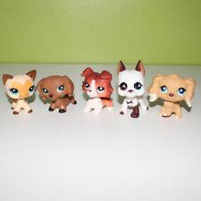 5X Littlest Pet Shop toys LPS cat 3573 dog great dane dachshund collie spaniel