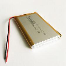 10000mAh 3.7V LiPo polymer Battery cells li ion For Power Bank Tablet PC 1162103