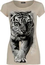 Scoop Neck Regular Casual Tops & Shirts for Women