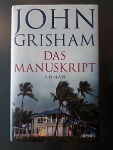 John Grisham - Das Manuskript - wie NEU