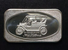 1972 Madison Mint Ford Tin Lizzie MAD-5 Silver Art Bar A5058