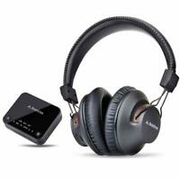 Bluetooth Wireless Headphones Set for TV PC Transmitter Optical RCA 3.5mm