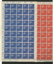 FIX 002 Luxembourg - Europa CEPT 1961 Mi. 647/48 complete  sheets MNH stamps