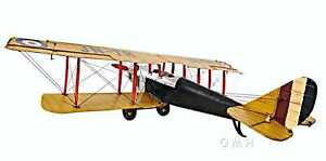 Yellow Curtis Jenny Model Airplane from Old Modern Handicrafts Fully Assembled