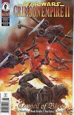 Dark Horse Comics 1999 STAR WARS CRIMSON EMPIRE II #5 Newsstand Bagged/Boarded