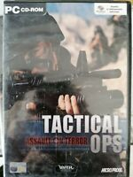 PC CD-ROM GAME - TACTICAL OPS Assault on terror videoGIOCO ita + manuale  Nuovo