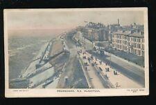 Lancashire Lancs BLACKPOOL North Shore Promenade novelty Bas-Relief PPC 1911