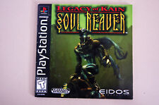 Legacy of Kain: Soul Reaver (Sony PlayStation 1, 1999) manual only - no game