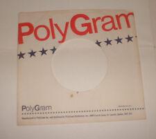 original 1 x CANADA POLYGRAM  records company sleeve