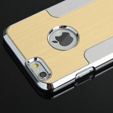 Hard Back Brushed Aluminium LOOK Metal Case Cover for Apple iPhone 6 6s Plus iPhone 6 Champagne