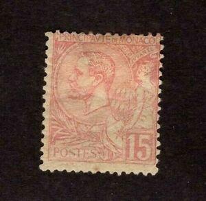 Monaco 17 Mint OG F Catalog $175