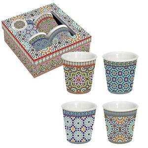 Orientalische Espresso-Tassen 4er Set Arabian / Morgenland Möbel & Accessoires