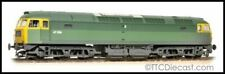 Bachmann 31-656 Class 47 47256 BR Green Full Yellow Ends (TOPS) Weathered *LAST