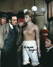 CARRY ON SCREAMING! Angela Douglas Signed 8x10 Photo - RARE IMAGE!!! 8